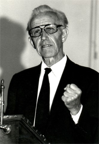 Rev. Orland A. Wolfram (1912-1987) (Photo by Dallenbach)